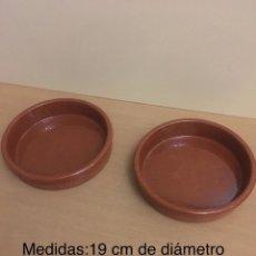 Segunda Mano: CAZUELAS DE BARRO. Lote 147735518