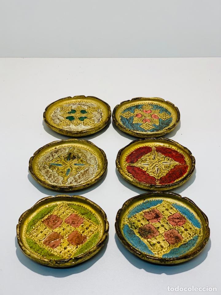 POSAVASOS DE MADERA (Segunda Mano - Hogar y decoración)