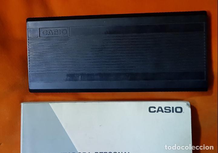 Segunda Mano: COMPUTADORA PERSONAL, CALCULADORA CIENTÍFICA CASIO FX-850P, CON MANUAL DEL PROPIETARIO. FUNCIONANDO. - Foto 4 - 149000118