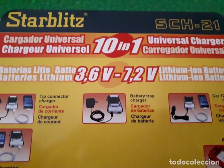 Segunda Mano: Cargador Universal 10 en 1 – Starblitz Sch 21 - Foto 2 - 149482942
