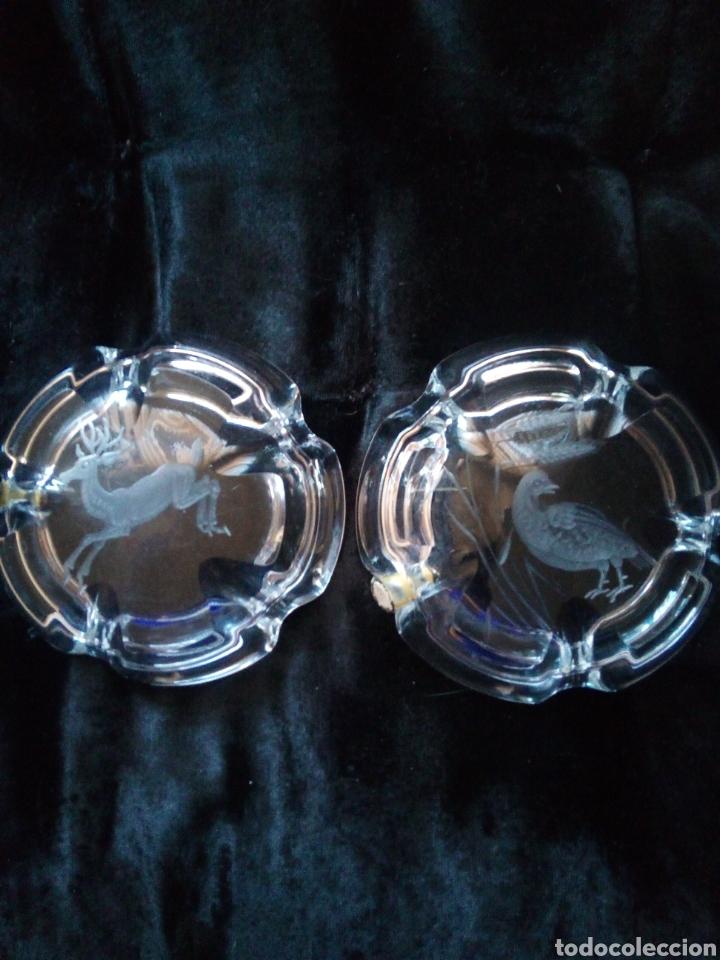 Segunda Mano: Cecineros cristal tallado bohemia - Foto 5 - 149671768