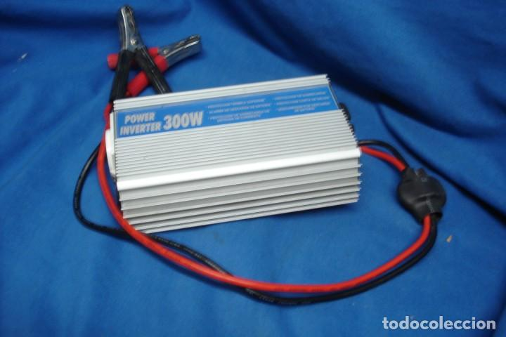 POWER INVERTER 300 WATIOS - INVERSOR DE ENERGIA DE 12 V. A 220 V (Segunda Mano - Artículos de electrónica)