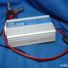 Segunda Mano: POWER INVERTER 300 WATIOS - INVERSOR DE ENERGIA DE 12 V. A 220 V. Lote 149827442