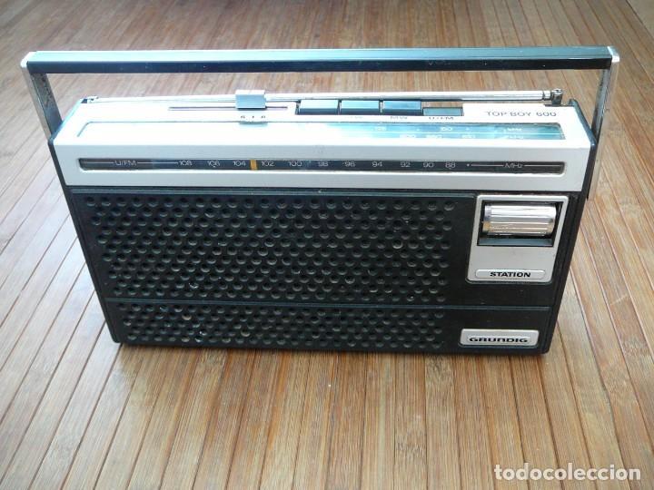 RADIO GRUNDIG TOP BOY 600. VINTAGE, RETRO. (Segunda Mano - Artículos de electrónica)