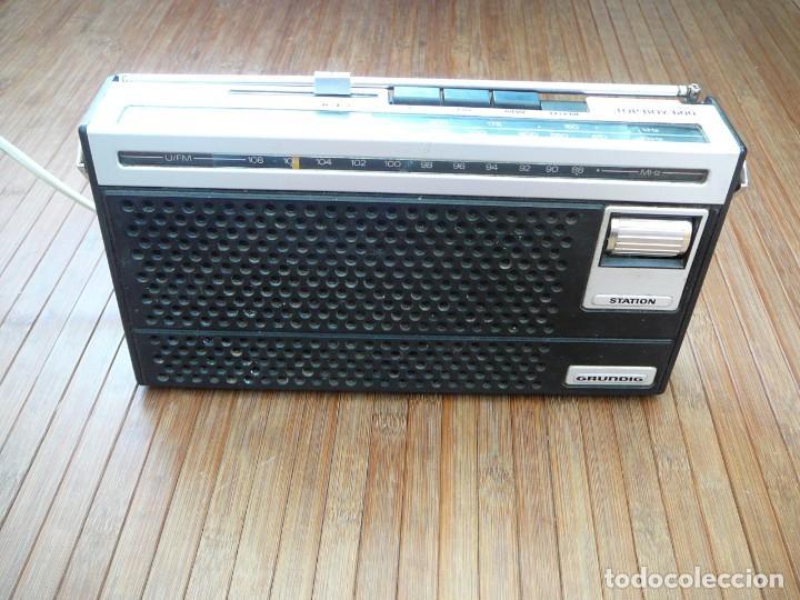 Segunda Mano: Radio Grundig Top Boy 600. Vintage, retro. - Foto 2 - 149975946