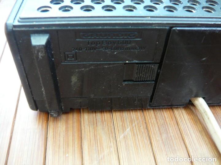 Segunda Mano: Radio Grundig Top Boy 600. Vintage, retro. - Foto 24 - 149975946