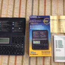 Segunda Mano: DIGITAL DIARY CASIO AGENDA DIARIO DIGITAL SF-3300ERBU-W 32 KB. Lote 150124974