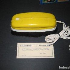 Segunda Mano: CEPILLO ASPIRADOR MARCA TR - 125 / 220V. - '70S. - TAMAÑO 25X9.1X9.1 CM.. Lote 150133838