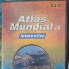 Segunda Mano: PC CDROM - ATLAS MUNDIAL INTERACTIVO. Lote 150756346