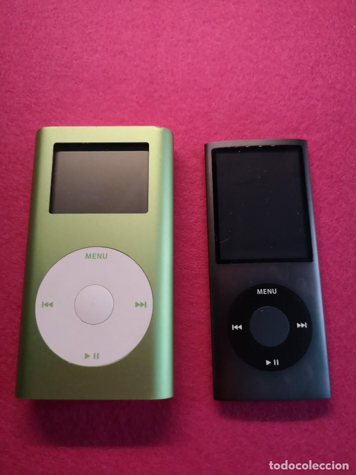 2 IPOD NANO 4GB 8GB (Segunda Mano - Artículos de electrónica)