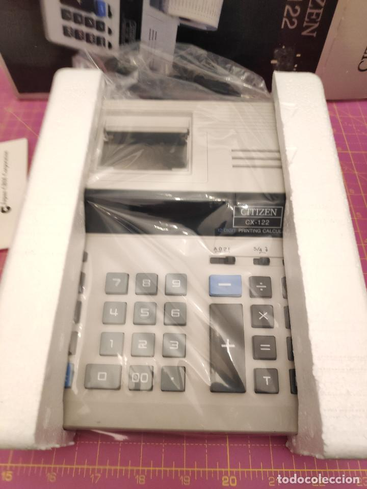 Segunda Mano: Calculadora impresora Citizen CX-122 - Nueva - Foto 2 - 151464906
