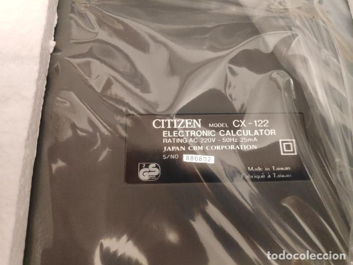 Segunda Mano: Calculadora impresora Citizen CX-122 - Nueva - Foto 4 - 151464906