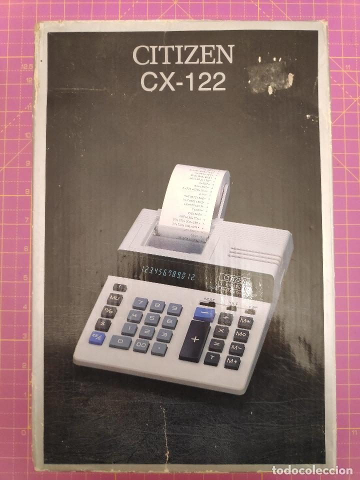 Segunda Mano: Calculadora impresora Citizen CX-122 - Nueva - Foto 6 - 151464906