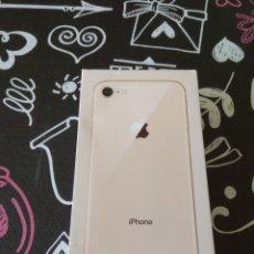 Segunda Mano: CAJA VACIA IPHONE 8 GOLD 64 GB. Lote 151593394