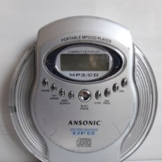 Segunda Mano: COMPACT CD DISPLAY MP3 CD ANSONIC. Lote 152155268