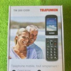 Segunda Mano: MOVIL TELEFUNKEN. ESPECIAL MAYORES. . Lote 152176998