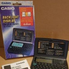Segunda Mano: DIARIO DIGITAL / BACKLIGHT DISPLAY DIGITAL DIARY - CASIO / SF-4700L / CAJA ORIGINAL / INSTRUCCIONES.. Lote 153485578