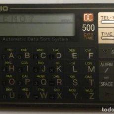 Segunda Mano: CASIO- AUTOMATIC DATA SORT SYSTEM DC 500. Lote 153586110