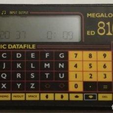Segunda Mano: MEGALOGIC ED 8100 ELECTRONIC DATAFILE. Lote 153586962