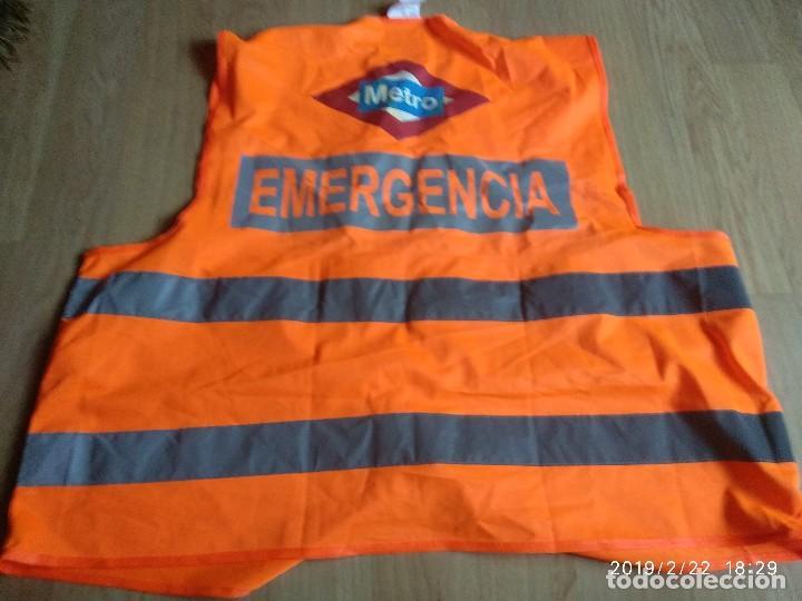 CHALECO REFLECTANTE EMERGENCIA METRO (Segunda Mano - Otros)