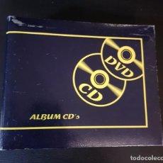 Segunda Mano: ARCHIVADOR ANILLAS CD-DVD CAPACIDAD 46 DISCOS. Lote 153867286