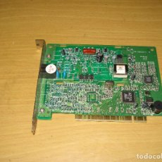 Segunda Mano: MÓDEM FAX INTERNO 56K PCI: LUCENT LT WINMODEM. Lote 154032850