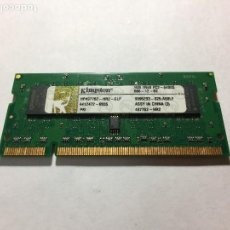 Segunda Mano: MEMORIA RAM - KINGSTONE 1GB 1RX8 PC2-6400S - HP MINI 110. Lote 154480250