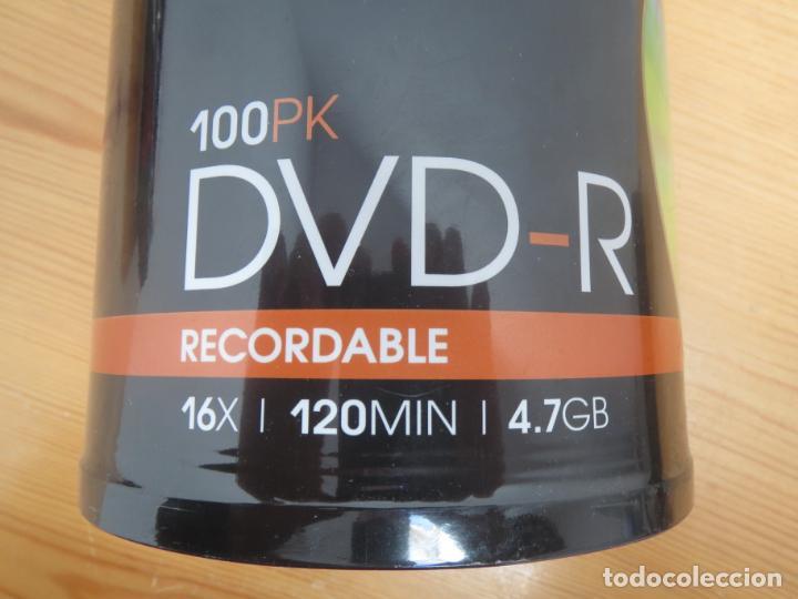 Segunda Mano: TORRE DE 100 DVD-R VIRGENES TDK NUEVO Y PRECINTADO - Foto 2 - 155135922