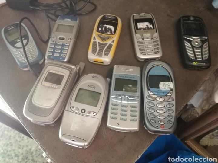 LOTE DE TELEFONOS MOVILES VARIAS MARCAS (Segunda Mano - Artículos de electrónica)