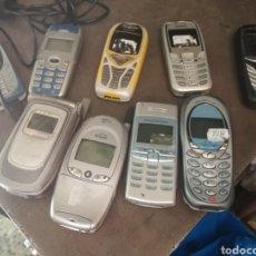 Segunda Mano: LOTE DE TELEFONOS MOVILES VARIAS MARCAS. Lote 155475537