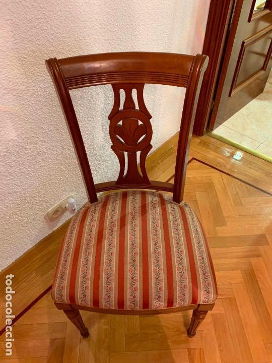 6 sillas de comedor tapizadas