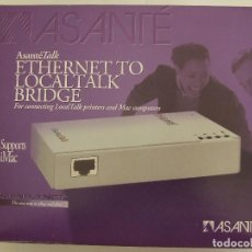 Segunda Mano: ASANTE TALK ETHERNET TO LOCALTALK BRIDGE PUERTO PARA IMAC MACINTOSH. Lote 156022698