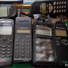 Segunda Mano: LOTE 8 TELEFONOS MOVILES LADRILLO NOKIA SAGEN ERICSSON MOTOROLA. Lote 157216054