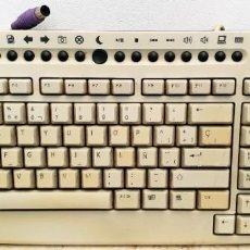 Segunda Mano: TECLADO AQN CG2011M/P PARA PC CON CONECTOR PS/2. Lote 158289106