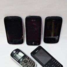 Segunda Mano: LOTE DE 5 MOVILES, HTC,LG,NOKIA Y MOTOROLA.. Lote 159508234