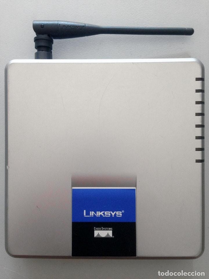 Segunda Mano: ROUTER LINKSYS WAG200G WIRELESS-G ADSL HOME GATEWAY WI-FI INALAMBRICO 2,4GHz-5GHz N/G/A/B - Foto 4 - 159870458