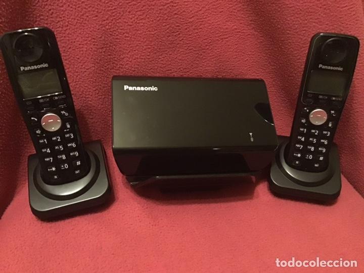 TELEFONOS GSM DECT DUO PANASONIC KX-TW502 (Segunda Mano - Artículos de electrónica)
