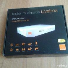 Segunda Mano: ROUTER -- MULTIMEDIA LIVEBOX -- ORANGE -- COMPLETO. Lote 160391174