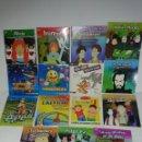Segunda Mano: LOTE 5 JUEGOS PC + 10 DVDS INFANTILES. Lote 160537362