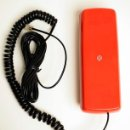 Segunda Mano: TELÉFONO VINTAGE ROJO MARCA TELYCO MODELO BENJAMÍN. Lote 160599754