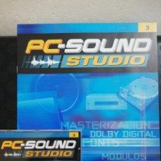 Segunda Mano: PC SOUND STUDIO 3. Lote 160712149