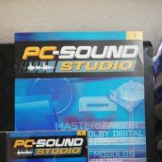 Segunda Mano: PC SOUND STUDIO 1. Lote 160712302