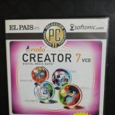 Segunda Mano: CREATOR 7 CREACIÓN MULTIMEDIA. PC. Lote 160713345