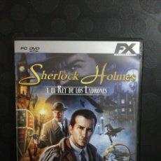 Segunda Mano: SHERLOCK HOLMES Y EL REY DE LOS LADRONES PC. Lote 160722317
