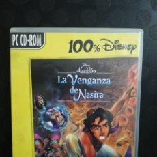 Segunda Mano: ALADDIN LA VENGANZA DE NASIRA, DISNEY. PC. Lote 160722517
