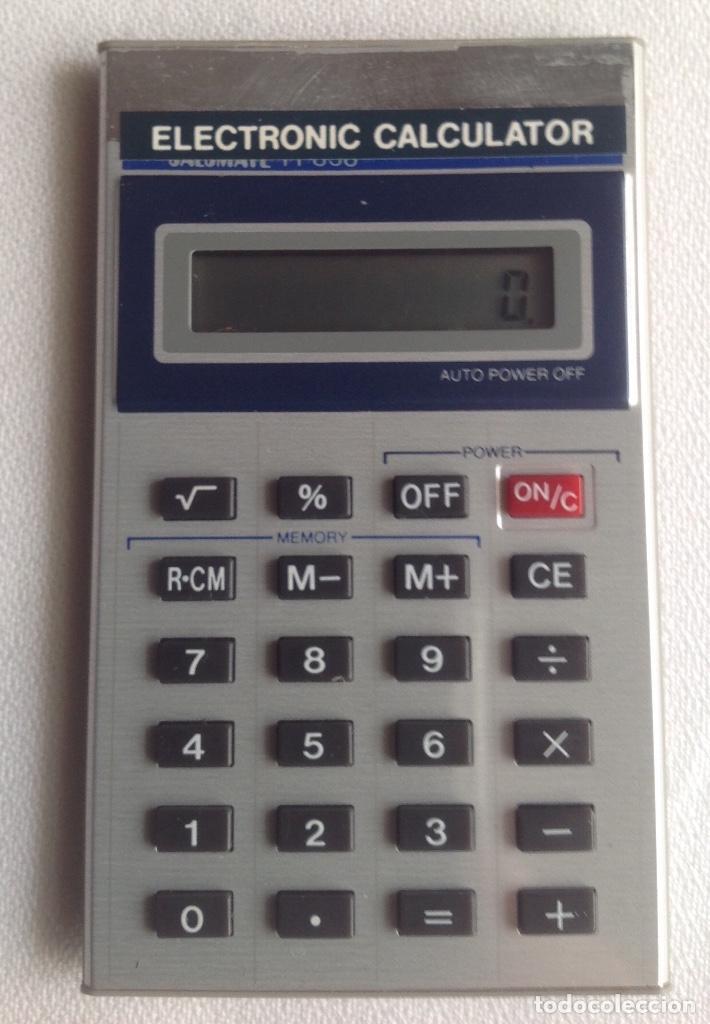 Segunda Mano: CALCULADORA ELECTRÓNICA CALCULATOR 838, FUNCIONANDO EN EL MOMENTO DE PONER EL ARTÍCULO - Foto 6 - 160839654