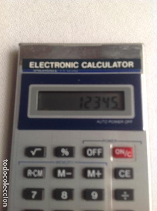 Segunda Mano: CALCULADORA ELECTRÓNICA CALCULATOR 838, FUNCIONANDO EN EL MOMENTO DE PONER EL ARTÍCULO - Foto 7 - 160839654