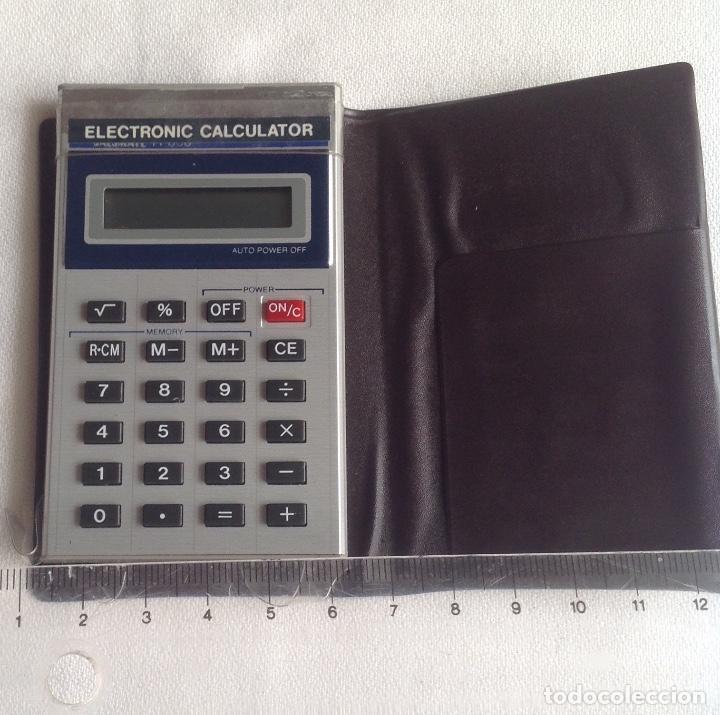 Segunda Mano: CALCULADORA ELECTRÓNICA CALCULATOR 838, FUNCIONANDO EN EL MOMENTO DE PONER EL ARTÍCULO - Foto 8 - 160839654