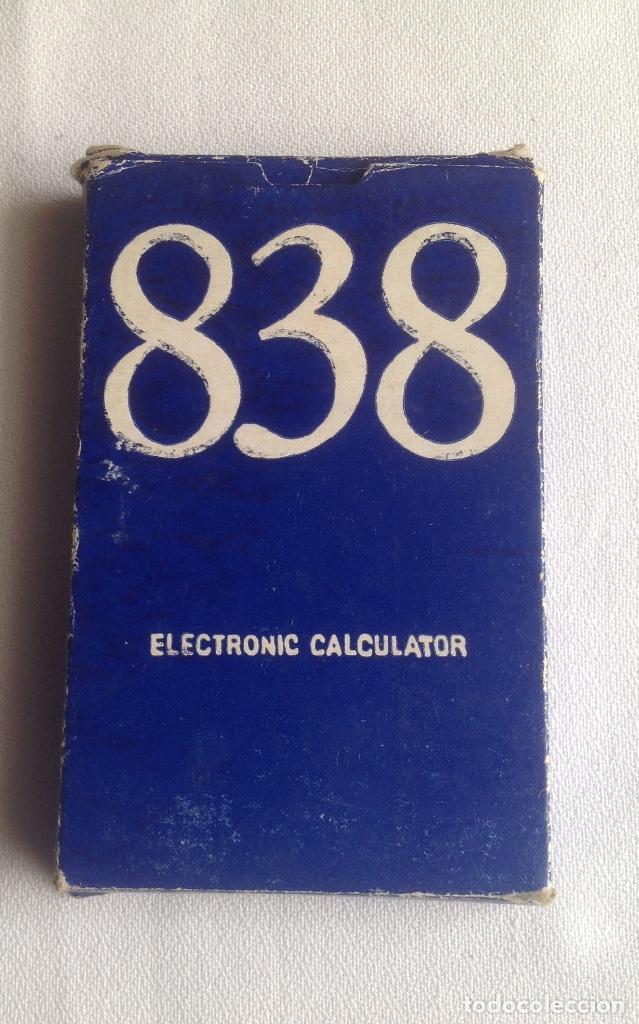 Segunda Mano: CALCULADORA ELECTRÓNICA CALCULATOR 838, FUNCIONANDO EN EL MOMENTO DE PONER EL ARTÍCULO - Foto 3 - 160839654
