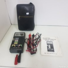 Segunda Mano: TESTER AUTORANGE DIGITAL MULTIMETER MODEL HC 777 MARCA HUNG CHANG. Lote 160968032